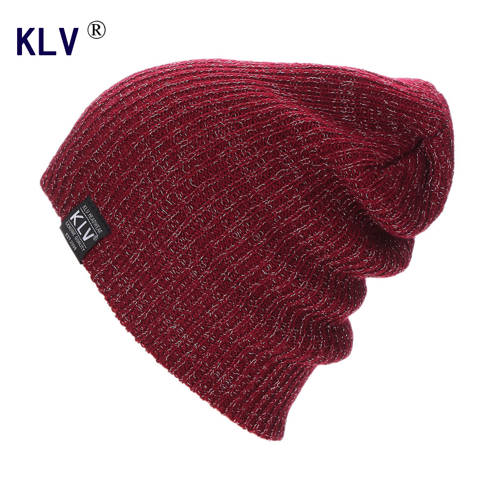 KLV 2016 Winter Hat for Men Women Warm Baggy Beanies Caps Skullies  Knitted Hats gorros mujer invierno Amazing winter hat casual unsex knitted hats for men baggy beanie hat crochet slouchy oversized caps warm skullies toucas gorros