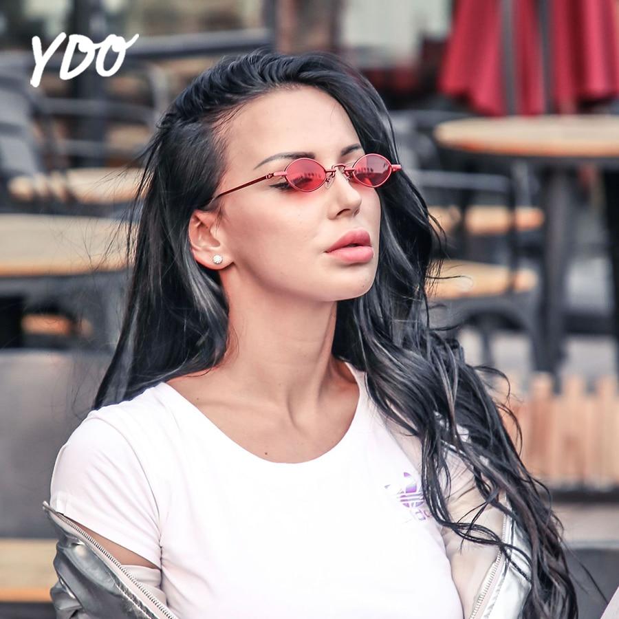 YDO Nieuwe Ovale Zonnebril Damesmode 2018 Samll Ellipse Zonnebril - Kledingaccessoires