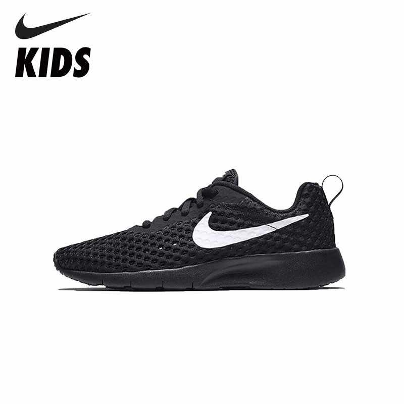 new style ebde0 6908f NIKE TANJUN BR (GS) Comfortable Sports Shoes For Kids Breathable  Sweat-absent Sneakers