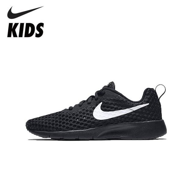detailed look 3799f 71027 NIKE TANJUN BR (GS) Comfortable Sports Shoes For Kids Breathable  Sweat-absent Sneakers AO9603-001