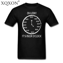 OH Look it's beer O'clock men's t-shirt / 16 Colors