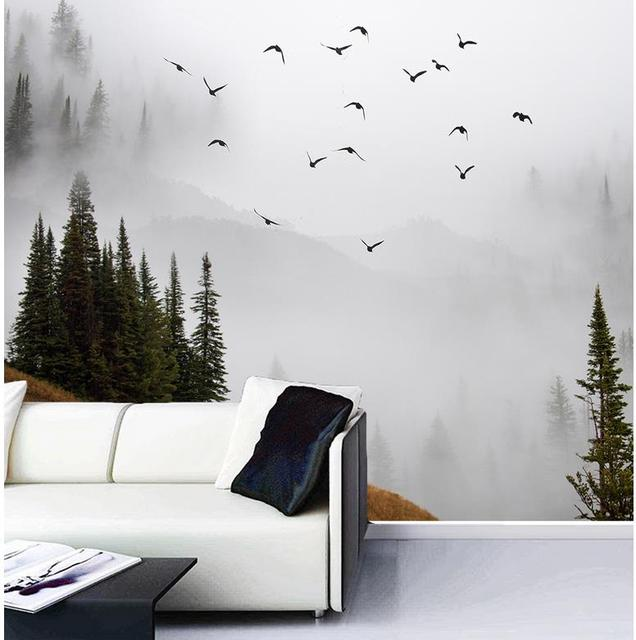 simple wall murals