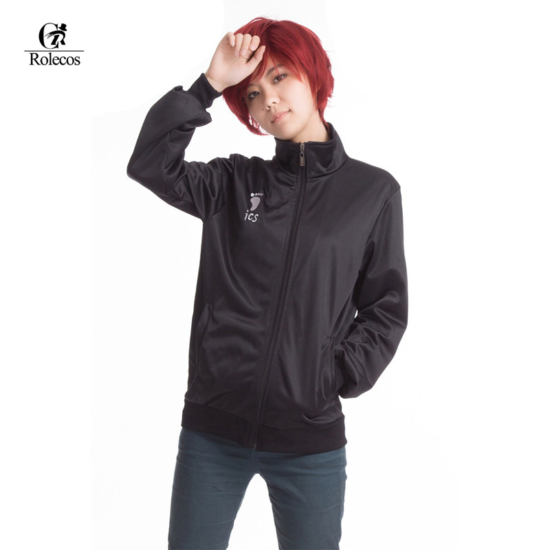Haikyuu !! Cappotto per giacche su misura cosplay di Karasuno High School Volleyball Club