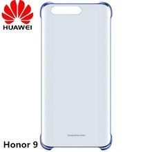 Оригинальный Huawei Honor 9 прозрачный чехол для телефона, ПК прозрачная защитная задняя крышка корпуса для Honor девять смартфон