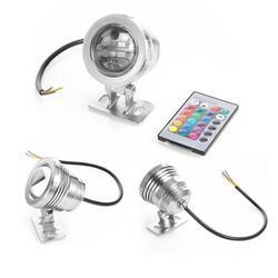 AKDSteel wodoodporna RGB LED podwodne lampa z zdalnego sterowania korytarz lampa zewnętrzna basen staw fontanna akwarium