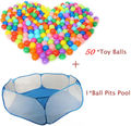 39*60*120cm foldable tent for kids Plastic toy tents safety  ball pit pool game play hexagon 3 Color children's tents  Hot
