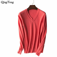 Pure Cashmere Sweater Women V Neck Pattern Review Sale Sloane Sweater Dip Dye Cashmere pullover for ladies Autumn Winter Basics