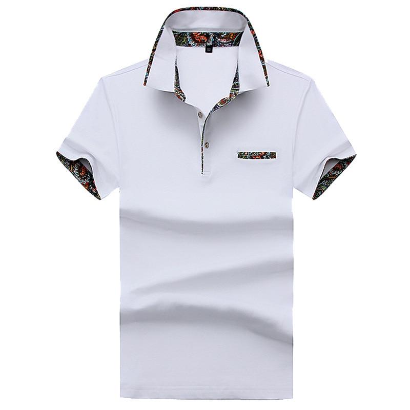 a1ba630afeed4c Jbersee 2018 Moda Manica Corta Polo Da Uomo Turn Down collare Estate di Polo  Degli Uomini Camicia di Marca Casual Dry Fit Polo camicie in Jbersee 2018  Moda ...