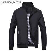 New Jacket Men Fashion Casual Loose Mens Long sleeve Sportswear Bomber jackets men and Coats Plus Size M-5XL