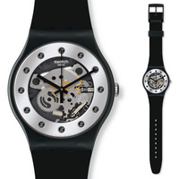 Swatch Watch Quartz Watch for Men and Women Christmas Edition SUOZ147
