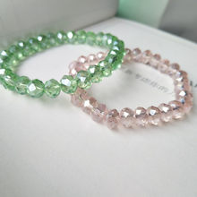 Elegant Luxury Crystal Bracelet Shiny Jewelry For Women Girls Gifts 10 colors available(China)