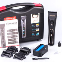 Professional Electric Dog Hair Clipper Cutter LCD Display Rechargeable Hair Trimmer For Humans Barber Salon Haircut Machine