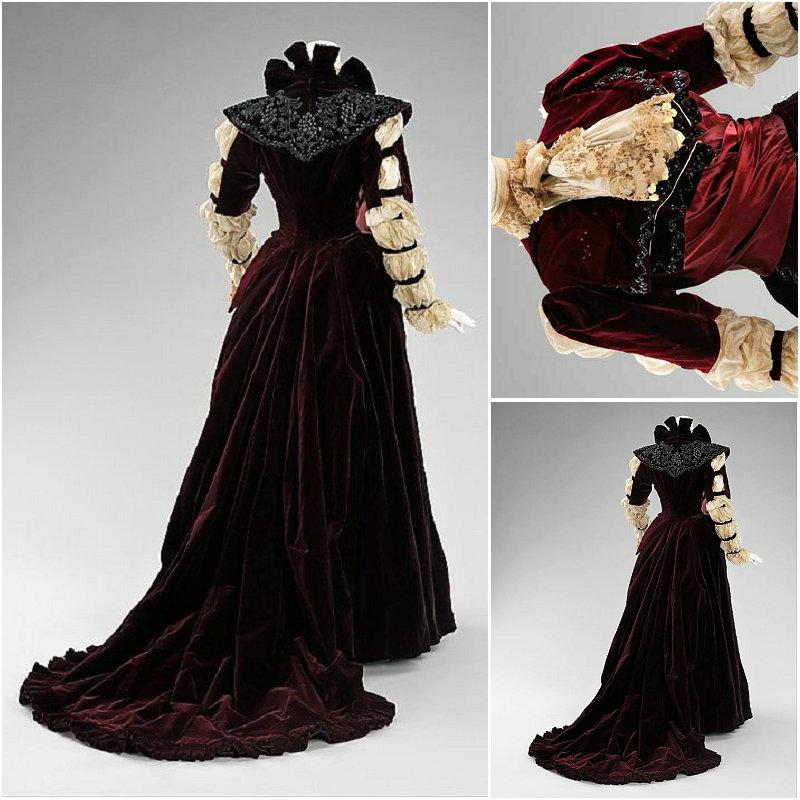 Historie! Zákaznické 18leté ročníky kostýmů Renaissance šaty - Kostýmy