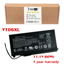 11.1 V Batería 86Wh VT06XL para HP Envy 17-3000 17T-3000 TPN-I103 HSTNN-IB3F VT06 VT06086XL 657240-171 657240-251