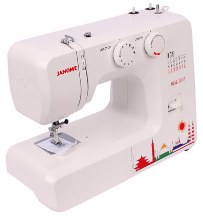 Japanese Household Multifunctional ADE 40 Limited Edition Janome Beauteous Janome Mini Sewing Machine