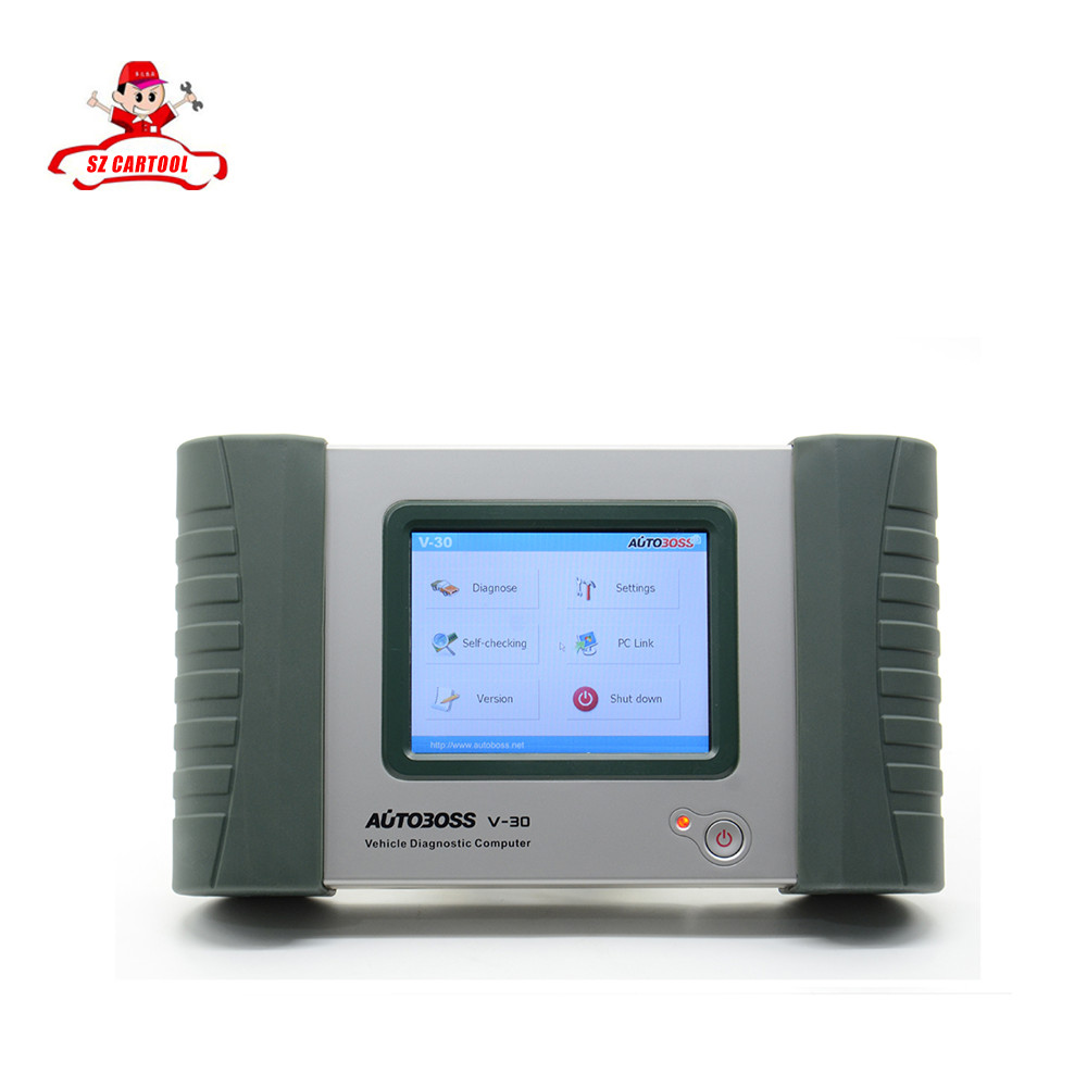 100% Original AUTOBOSS V30 Vehicle Diangnostic Computer Update Online AUTOBOSS V30 Auto Scanner DHL Free Shipping
