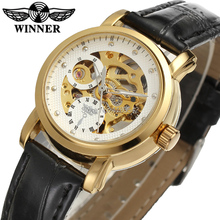 Winner Watch Newest Design Watches Lady Top Quality Watch Factory Shop Free Shipping WRL8048M3G4