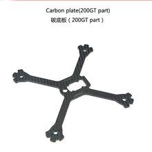 LDARC мм 200 мм углеродного волокна Нижняя пластина для 200GT FPV системы для гоночного дрона RC Racer