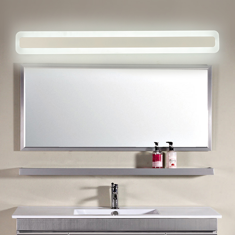 led Mirror front light bathroom simple and modern led toiletry makeup light waterproof fog bathroom toilet bathroom mirror lamp|modern led|led lamp modernled modern - AliExpress