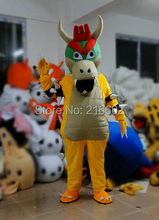SUPER MARIO BOWSER KOOPA Adult Size Mascot Costume Fancy Outfit cosplay costumes for Halloween party event & Buy bowser costume and get free shipping on AliExpress.com