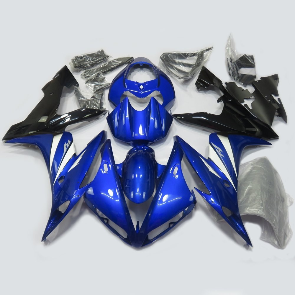Motorcycle Injection Molding Fairing Kit For Yamaha YZF R1 YZFR1 YZF-R1 2004 2005 2006 04 05 06 Bodywork Fairings Blue UV Paint wotefusi black motorcycle injection mold bodywork motorcycle fairing for 2004 2005 2006 yamaha yzf1000 r1 04 05 06 3 [ck813]