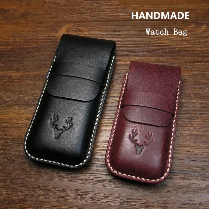 High Quanlity Leather Watch Bag Black Watch Protect Storage Bag Travel Watch Gift Box Fashion Brown Box Can Customize LOGO B032 карликовое дерево flower 5 cucurbita b032