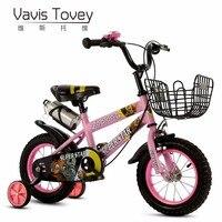 VAVIS TOVEY High Quality Children Bicycle 2 4 5 6 7 Year Old Boy Girl Bike