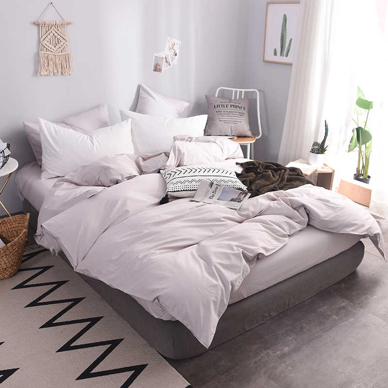 7297e64354f ... 600TC Pure Cotton Luxury Duvet Cover 140x200 Custom Size Bedding King Queen  Solid Color Printed Duvet ...