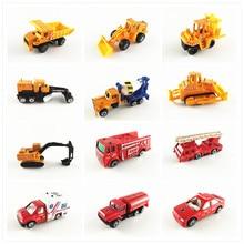 Военный танк ракета автомобиль полицейский автомобиль инженерный цемент грузовик экскаватор-погрузчик модель для строительных комплектов игрушка