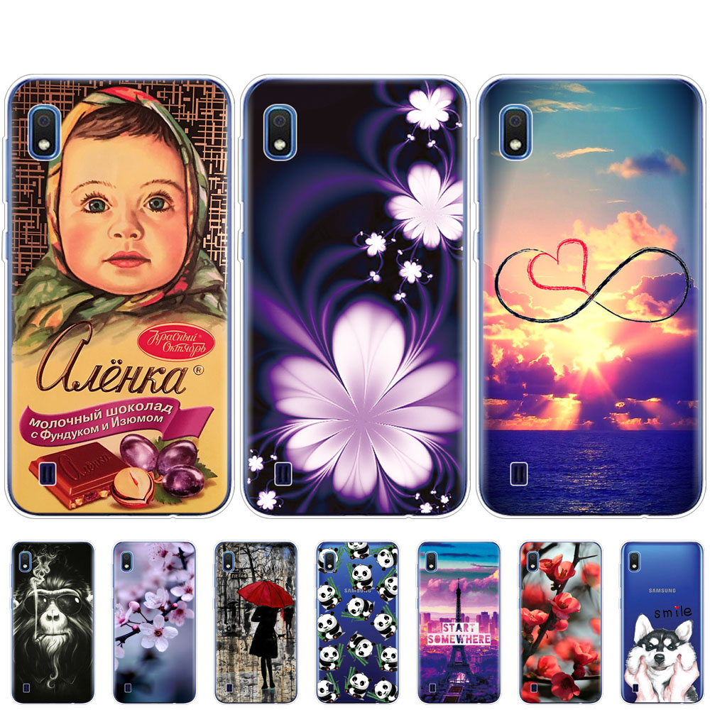 Case For <font><b>Samsung</b></font> <font><b>A10</b></font> Case cover phone Silicone <font><b>funda</b></font> For <font><b>Samsung</b></font> Galaxy <font><b>A10</b></font> A 10 cover SM-A105F A105 A105F cartoon coqa image
