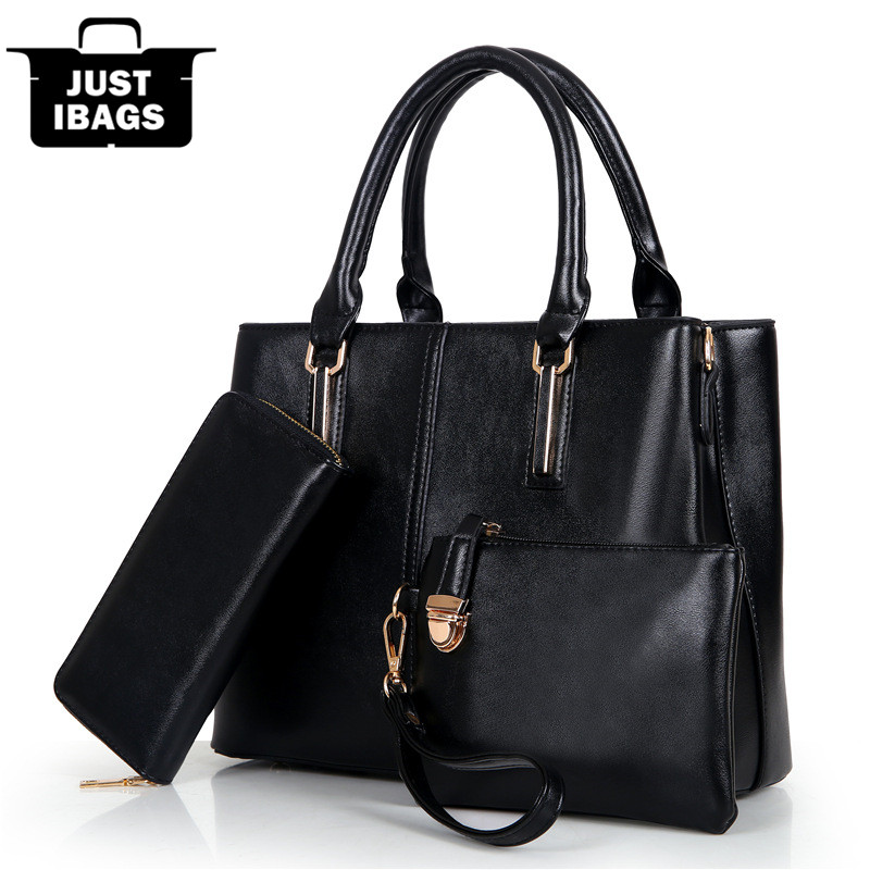 European and American Style women handbags set quality pu leather crossbody bags simple solid shoulder bags ladies zipper wallet catherine douillet national harmony and its discontents
