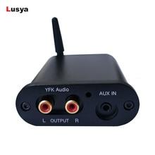 CSR8675 Bluetooth 5,0 аудио приемник декодирование PCM5102A 3,5 RCA DAC AUX вход с антенной Чехол Поддержка APTX HD 24 бит A6-003