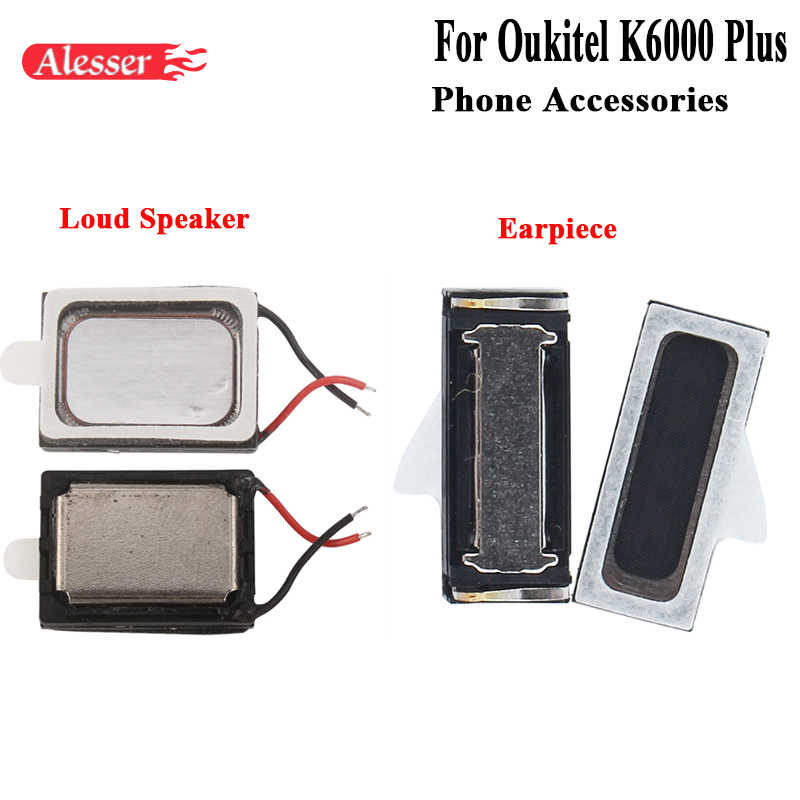 Alesser Genuine Loud Speaker For Oukitel K6000 Plus Buzzer Ringer Assembly Replacement Part For Oukitel K6000 Plus Earpiece