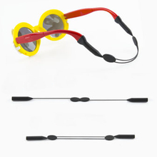 Silicone Glasses Strap Neck Cord Sports Eyeglasses Sunglasses Rope String Holde glasses strap neck cord Anti Slip Rop