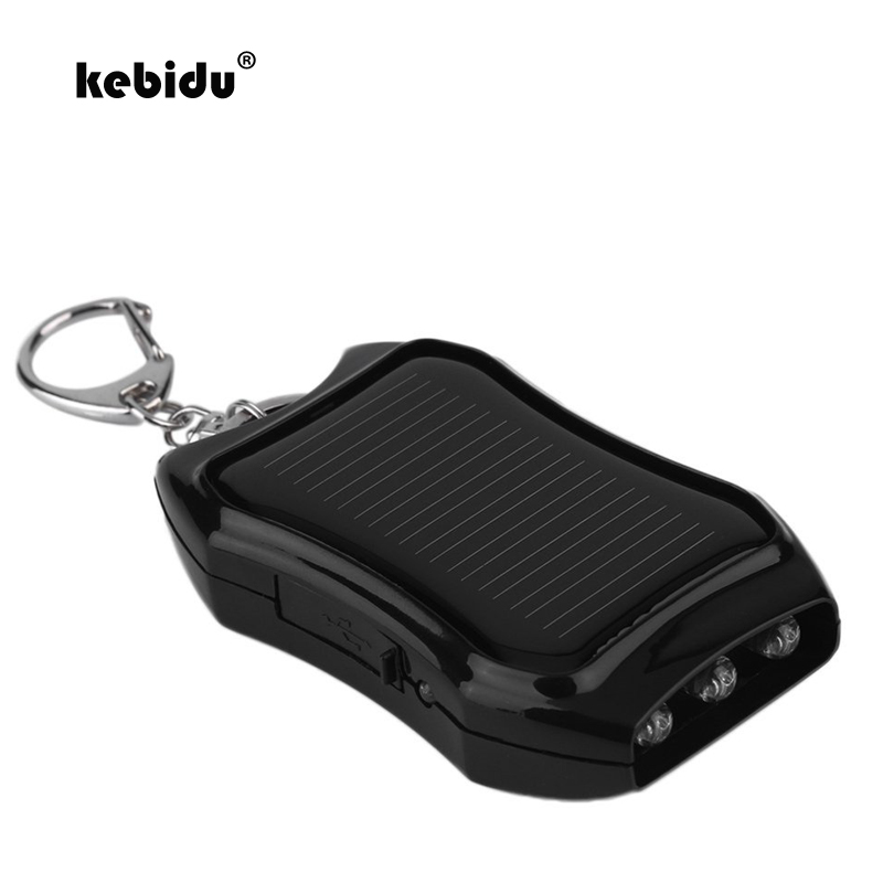 Skillful Knitting And Elegant Design Accessories & Parts Consumer Electronics Kebidu 800mah Solar Keychain Solar Charger Mobile Power Supply Energy Saving Charger/battery Power Bank With Led Light To Be Renowned Both At Home And Abroad For Exquisite Workmanship
