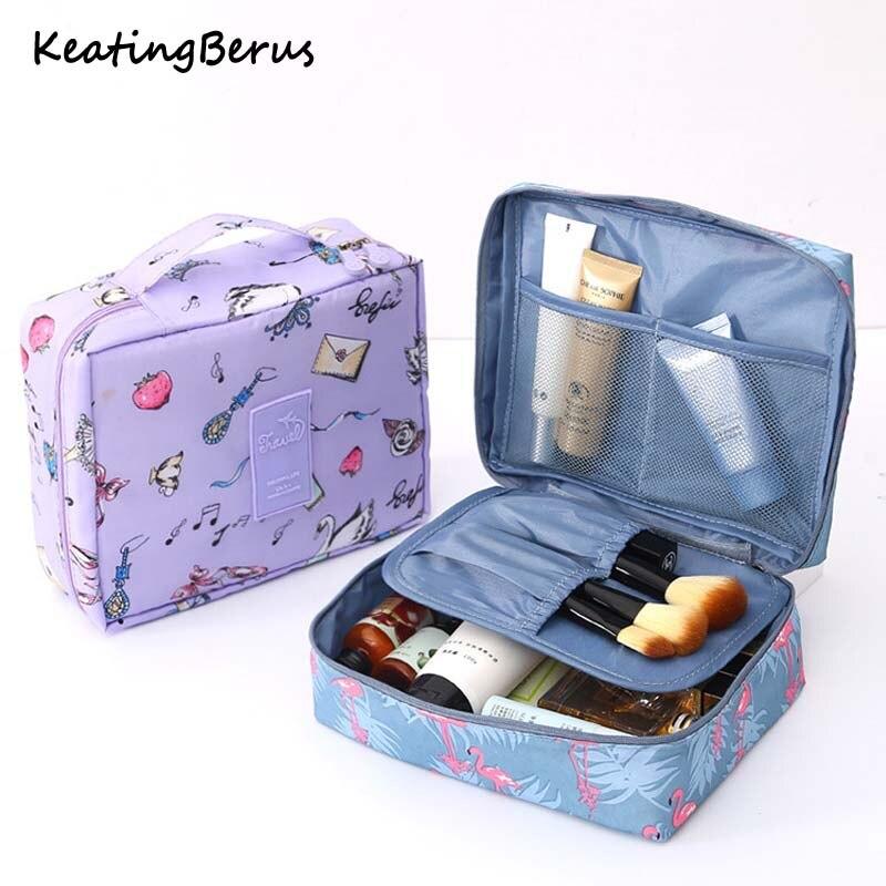 2019 New Makeup Bags Women Travel Cosmetic Bag Toiletries Organizer Waterproof Female Storage Make Up Cases