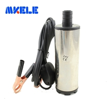 Free shipping DC 12/24V Submersible Diesel Fuel Water Oil Pump Car Camping Portable 30L Per Minute