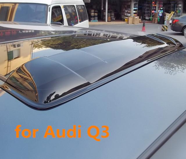 Alta qualidade Teto Solar escudos defletores de chuva tempo gruard shdows Acrílico para Audi Q3 2012 ~ 2015