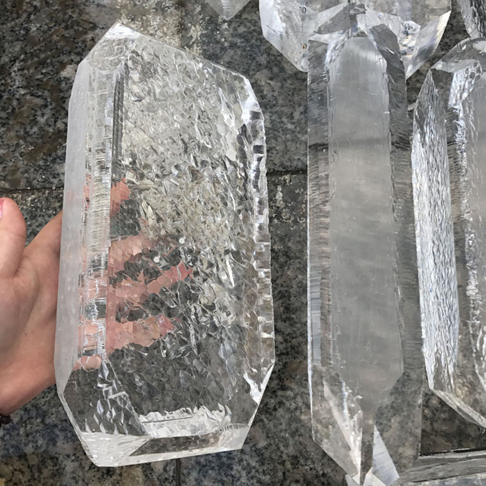 DS Clear Synthetic Quartz Crystal Cube Icelannd Spar Rock Healing Energy Crystal Stone Home DecorationDS Clear Synthetic Quartz Crystal Cube Icelannd Spar Rock Healing Energy Crystal Stone Home Decoration