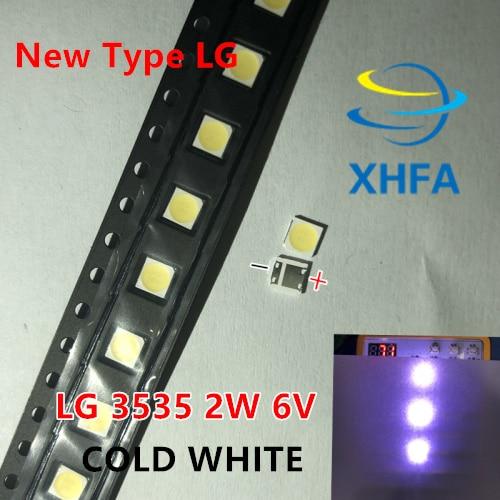 1000pcs FOR LG Backlight 2W 6V 3535 Cool white LCD Backlight for TV TV Application Style
