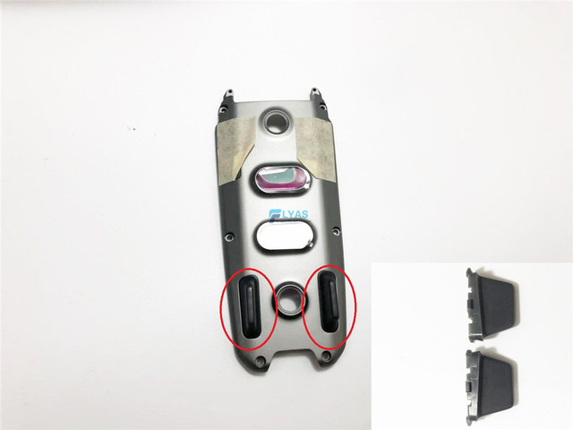 1 Pair Original Bottom Shell Cover Landing Gear for DJI Mavic 2 Pro Zoom Replacement Repair Parts 2pcs/Pair