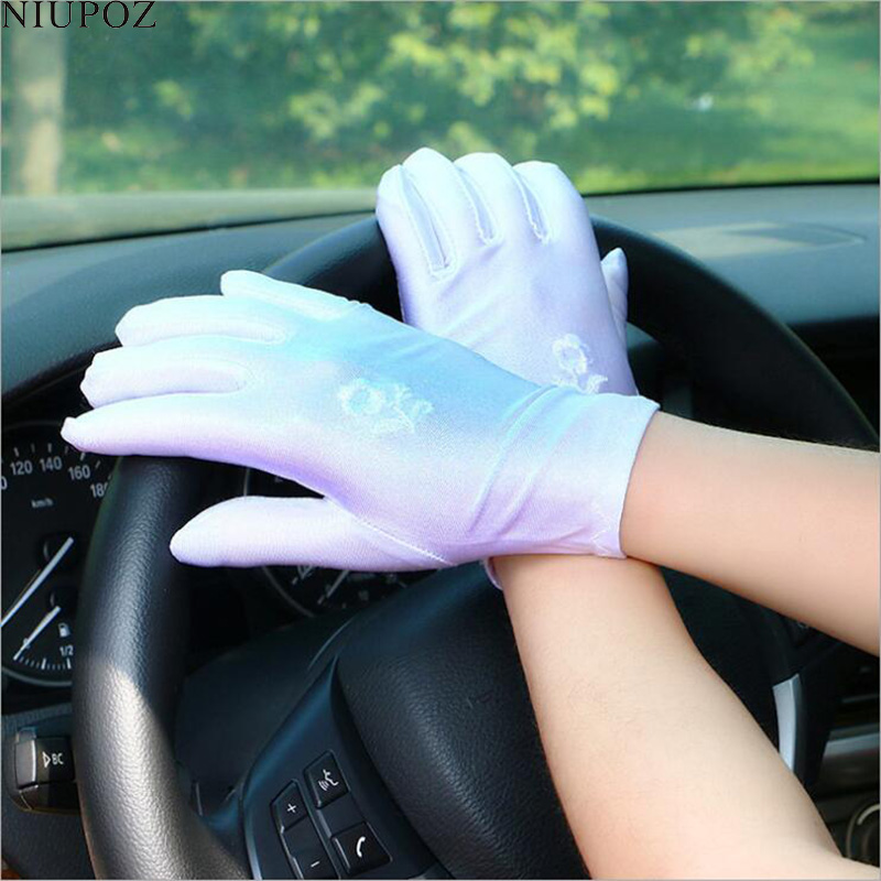 Classic Elasticity Female Evening Party Costume Gloves Women Sexy Fashion Short Full Finger Glove Ladies Ritual Dance Glove G212
