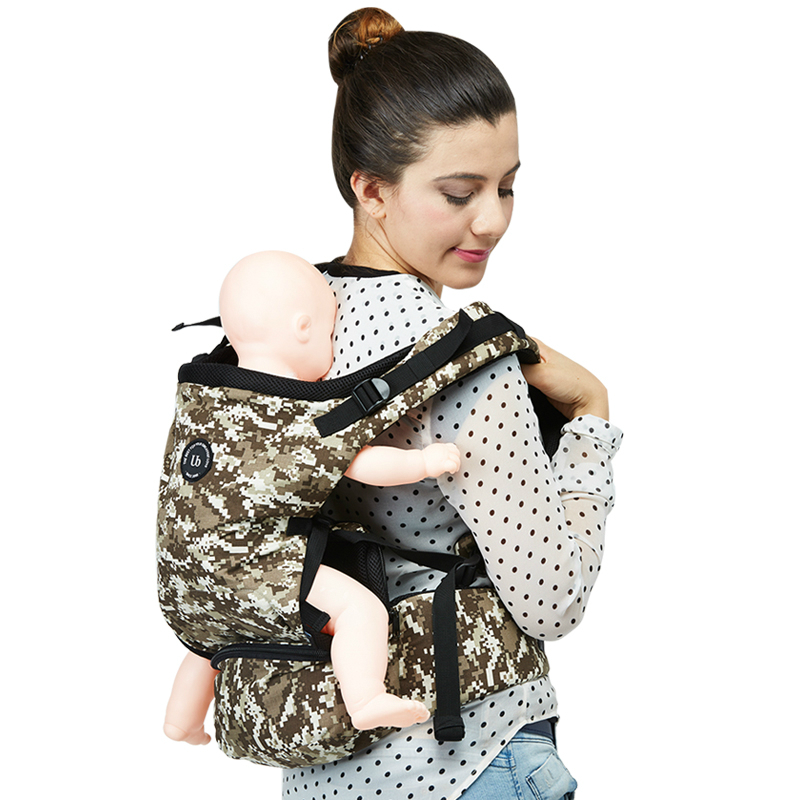 цена на New Arrive Cool Baby Belt Holding Sling Breathable Multifunctional Newborn Infant Carrier Double Shoulder Strap Baby Waist Stool