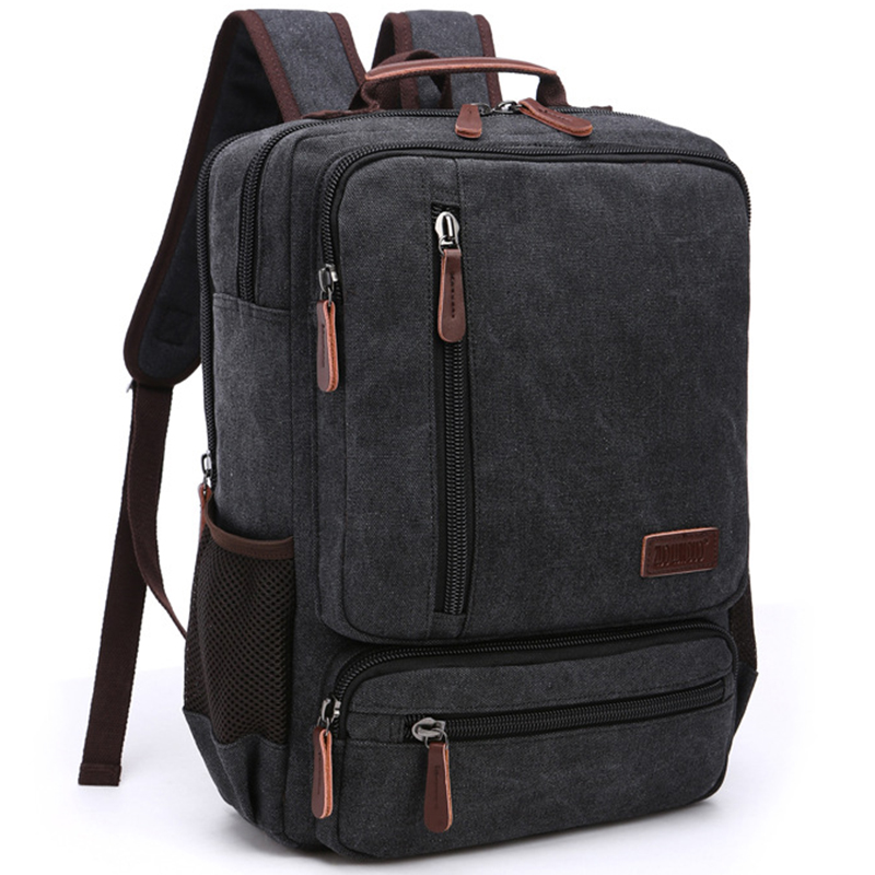 Vintage Backpack Men Back Pack Fashion Casual Canvas Women Backpacks For Teenager Shoulder Bag Rucksack Middle School Students цена