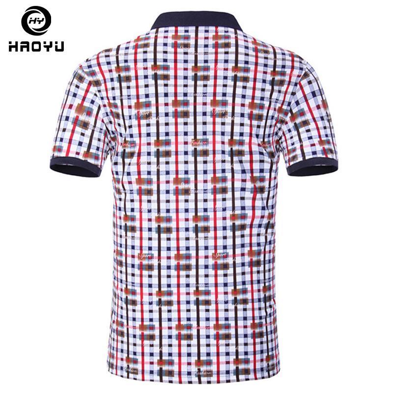2016 Summer Fashion Print Brand Men Polo Shirt Short Sleeve Slim Fit Shirt  Men Breathable Camisas Polo Shirts Casual Hombre NewUSD 33.30-42.27 piece e0cbe5426bf06