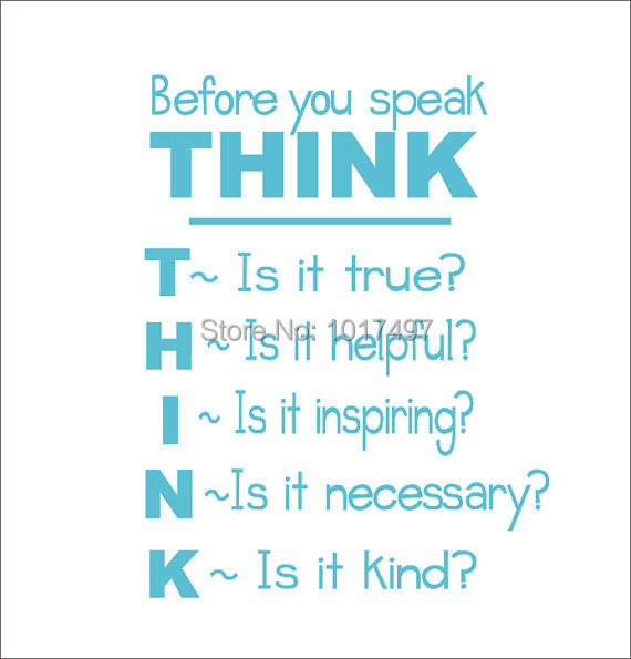 You,think