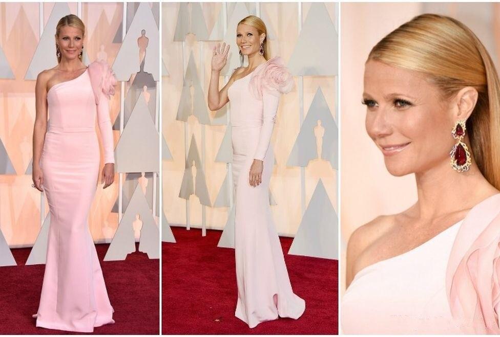 Gwyneth Paltrow 2016 87th Oscar Long Sleeve Evening