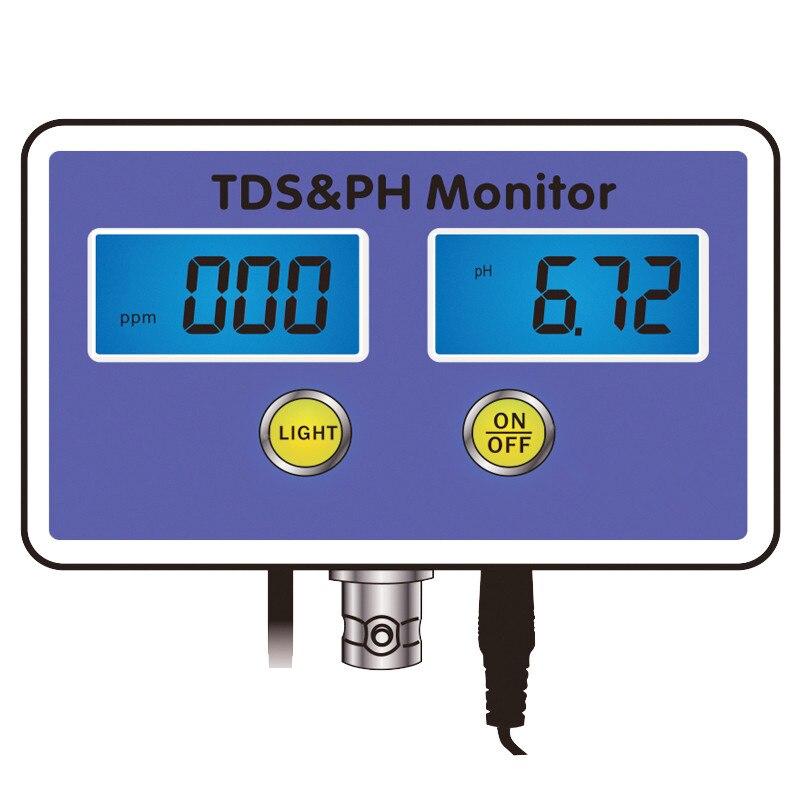 2 في 1 متعددة المعلمة مراقبة ph المياه جودة المياه اختبار TDS اختبار Acidometer لحوض السمك 30% قبالة-في أدوات التنظيف من المنزل والحديقة على  مجموعة 1
