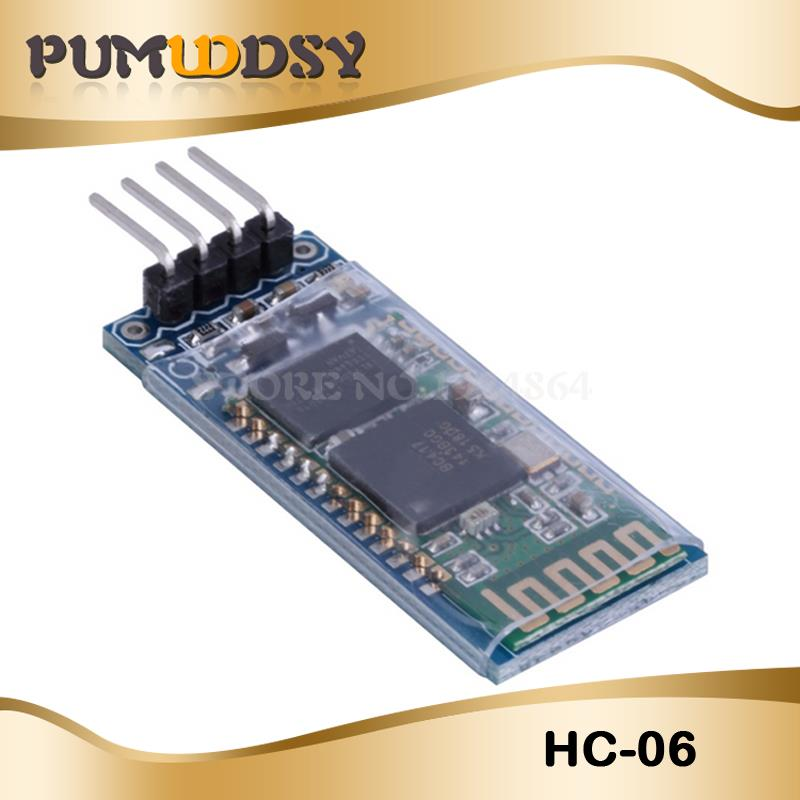 Hc-06 HC 06 RF Wireless Bluetooth Transceiver Slave Module RS232 / TTL To UART Converter And Adapter