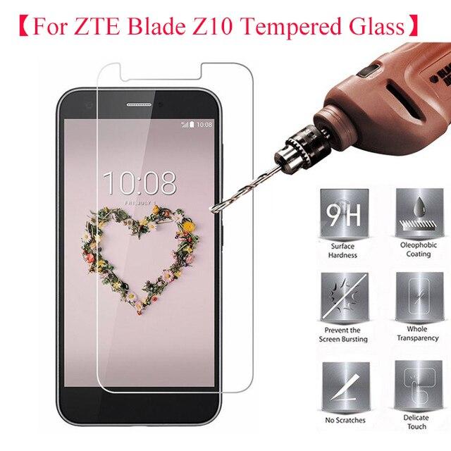2.5D 0.26mm 9 H Vidro Temperado Protetor De Tela ZTE Lâmina ZTE Lâmina Z10 Z10 Protetor de Tela de Proteção Flim Vidro ZTE Z10